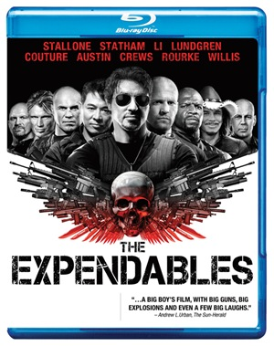 The Expendables Blu-ray copy