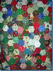 Christmas Y2K Hexagons