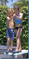 0709 Hanna and Noah at the Pool