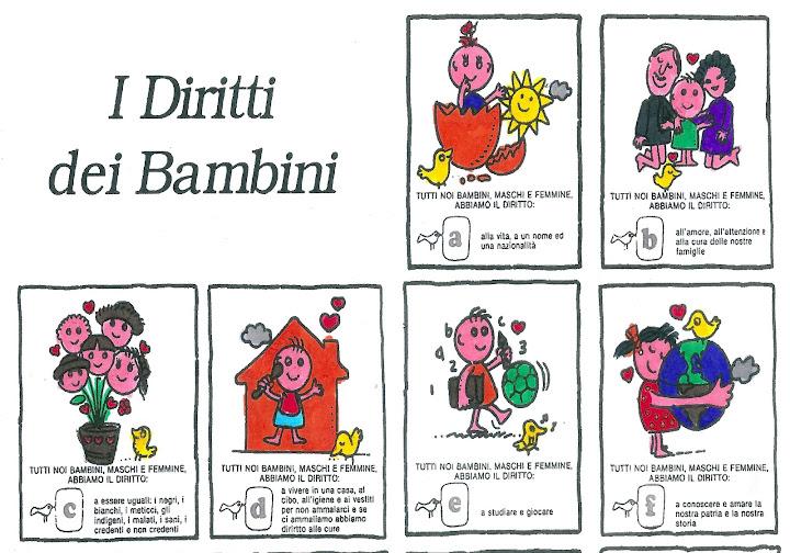 Connu Fabulandia > I Diritti dei Bambini YV16