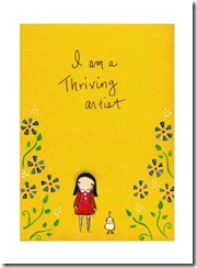 thriving artist