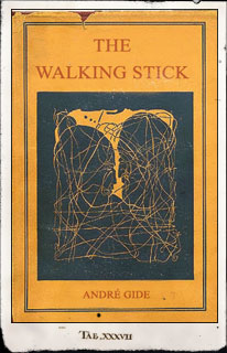Portada de The Walking Stick. Andre Gide
