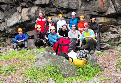atelierul de alpinism si escalada AMC. Peretele Taberei