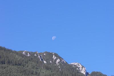 Piatra Craiului - luna