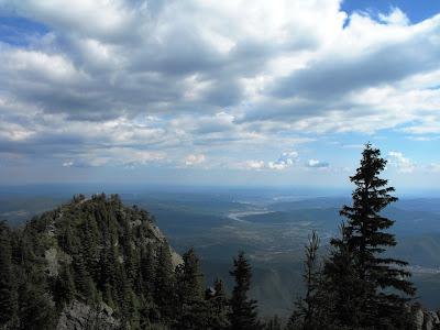 Valea Oltului vazuta de sus