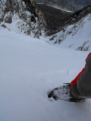 pe Valea Alba iarna