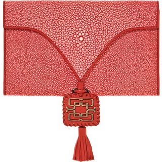 Genevieve Jones Ruby Shagreen clutch_vivre.jpg