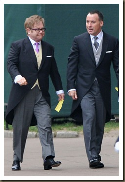 Elthon John y David Furnish
