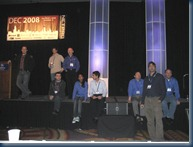 MS Directory Services Team at 2008's conference