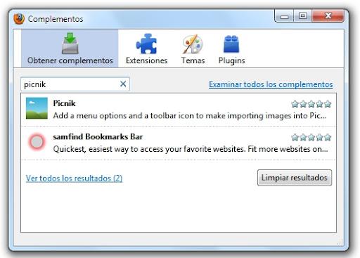 greenshot 2010 02 02 12 01 15 Instalar extensiones en Firefox: te enseñamos cómo hacerlo