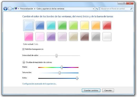 greenshot 2010 02 25 09 23 26 Cómo crear un tema de escritorio para Windows 7