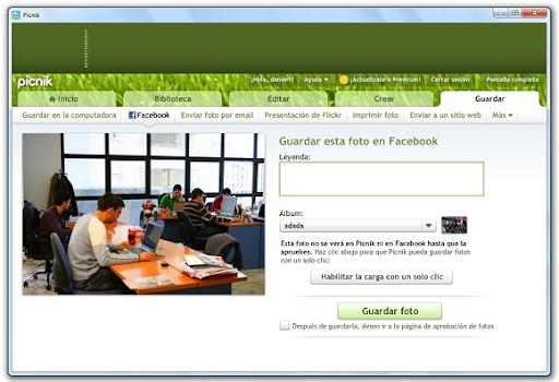 greenshot 2010 04 12 10 43 56 Edita tus fotos de Facebook desde Picnik