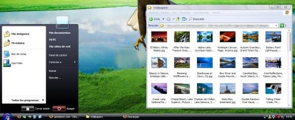 2prtlrd Los temas de Vista para XP más descargados