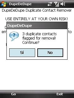 DupeDeDupe%20 1 ¿Contactos duplicados en Windows Mobile?