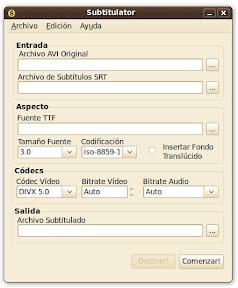 screenshot1 Subtitulator: añadir subtítulos a un vídeo en Ubuntu es más fácil que nunca