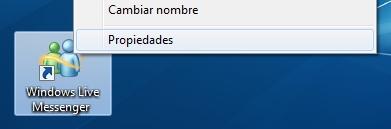 2 Cómo evitar que Windows Live Messenger muestre dos iconos en Windows 7