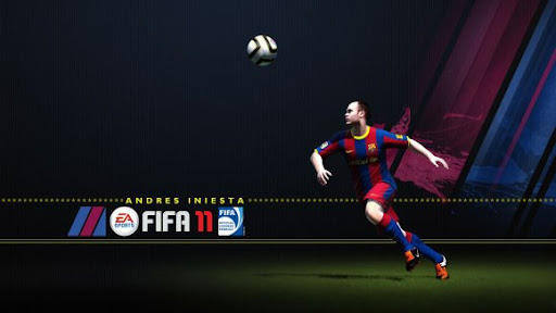 FIFA1 Portada de FIFA 11 - Andrés Iniesta es el elegido