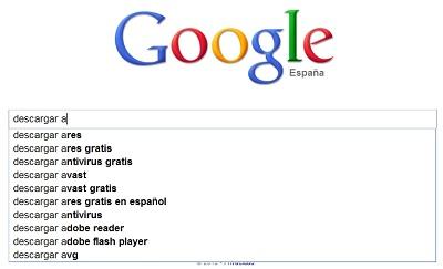 greenshot 2010 09 13 10 19 19 Programas de la A a la Z según Google