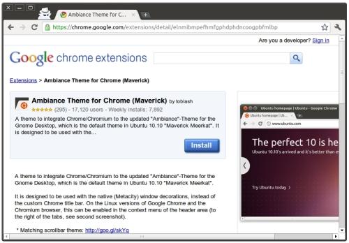 screenshot3 Haz que tus navegadores vistan la misma piel que Ubuntu