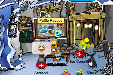 Puffle Rescue :)