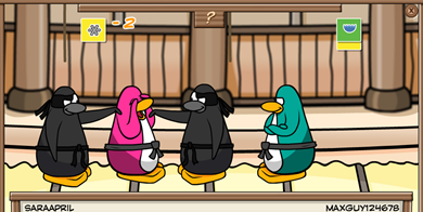 Card-Jitsu Ninjas Club Penguin
