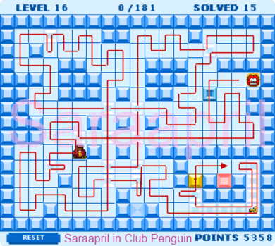 Thin Ice Level 16 :)