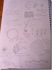Draw as I stitch