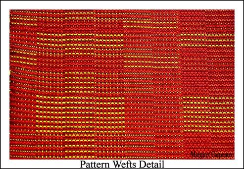 Pattern Wefts DEtail