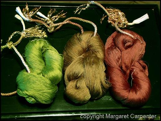 Dyed Binder Yarns