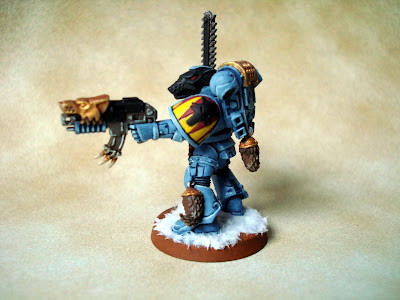 Space Wolves Lone Wolf by red_gobbo