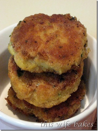 this wife bakes Codfish Cakes