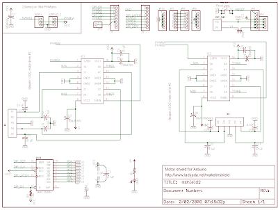 Arduino Mk 90 Motorshield Adafruit