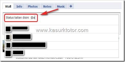 Cara Membuat Status Bersama di Facebook