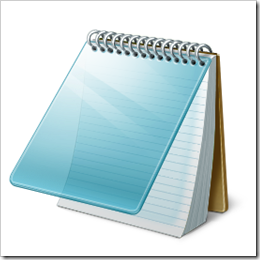 Cara membuat Diary dari Notepad