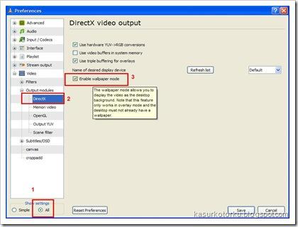 Membuat Wallpaper Video di Windows Xp
