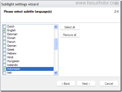 kaskot - sublight setting wizard 2