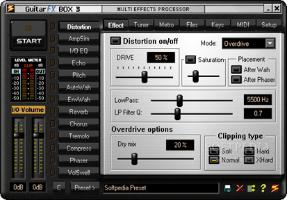 Software Efek Gitar di Komputer Anda - Guitar FX Box