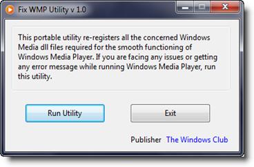 Memperbaiki Windows Media Player Yang Error/Rusak