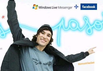 Facebook Chat di Windows Live Messenger