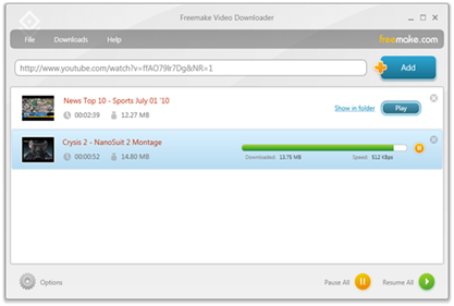 Download Video dari YouTube, Google,Vimeo, Veoh, Break. Facebook, Dailymotion, Megavideo, Metacafe