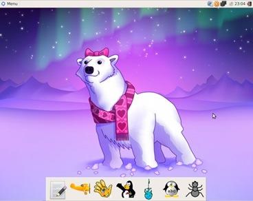 Qimo : Belajar Sistem Operasi Linux Untuk Anak Kecil