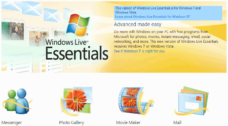 Windows Live Essentials 2011 Off Installer
