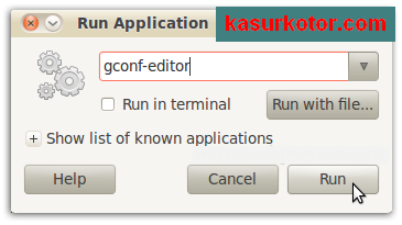 Menyembunyikan Ikon di Desktop Ubuntu