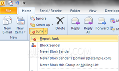 Menyaring Email Spam dan Junk di Microsoft Outlook