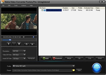 Download Nokia Video Converter Factory Pro Full Version