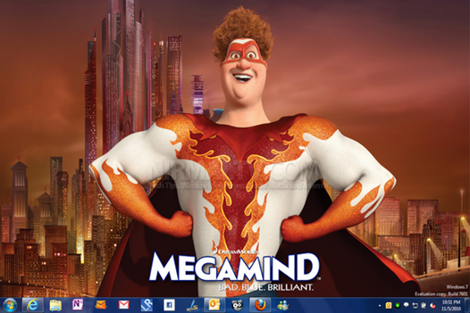 Windows 7 Megamind Theme / Tema