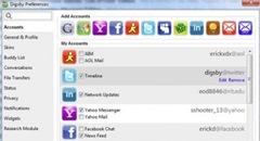 Versi Baru Digsby Lebih Banyak Dukungan Untuk Jejaring Sosial