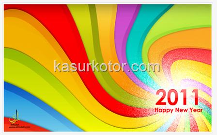 Theme/Tema Tahun Baru 2011 Untuk Windows 7