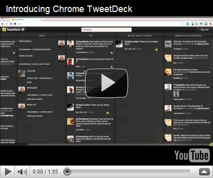 ChromeDeck - TweetDeck Versi Browser untuk Chrome