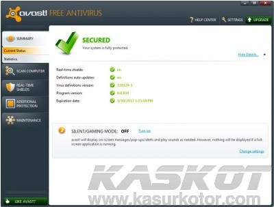 Download Avast! 6